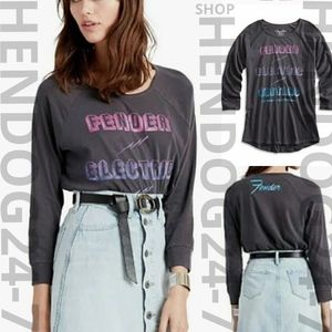 LUCKY BRAND FENDER ELECTRIC WOMEN'S TEE SIZE XS